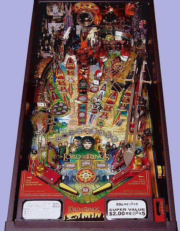 """The Lord of the Rings Playfield."" (click to enlarge..)"